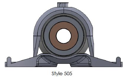 500/505 Series - Pillow Block Assembly
