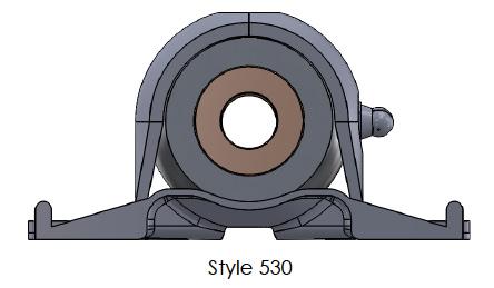 500/530 Series - Pillow Block Assembly