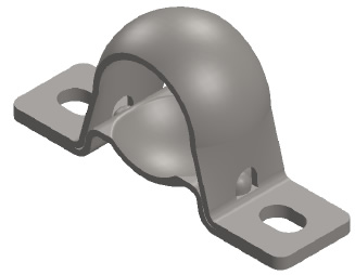 Stainless Steel Extra Wide Pillow Block Set